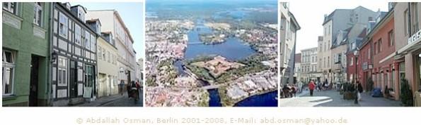 Ansichten von Spandau - Stadtteil und Bezirk in Berlin