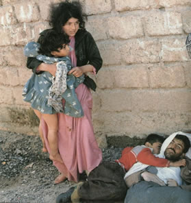 Saddam's deutsch-jüdischer Giftgasmord in Kurdistan 1988