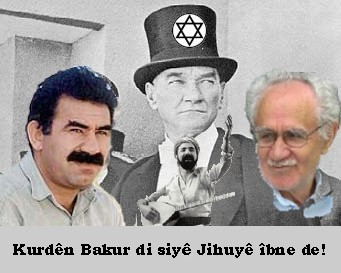Dirty Jew Ataturk and some Kurdish Leader