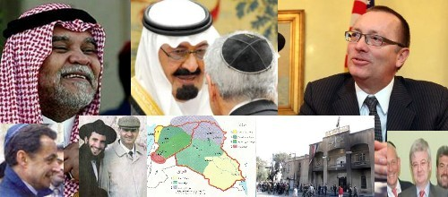 Jewish-Saudi Worldmafia with USA, EU and NATO versus Middle East