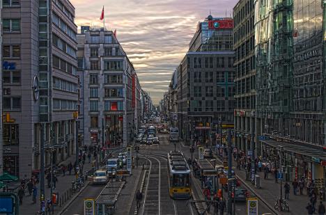 Berlin - The Main Street (FriedrichStraße)