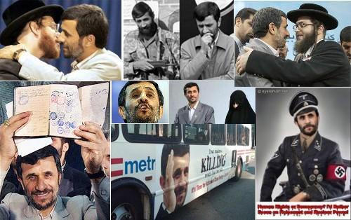 Irans jüdischer Präsident Mahmud Ahmadinedschad