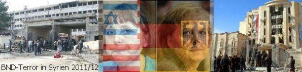 Deutscher NATO-Terror in Syrien ... vom BND, CIA, MIT und Mossad?!