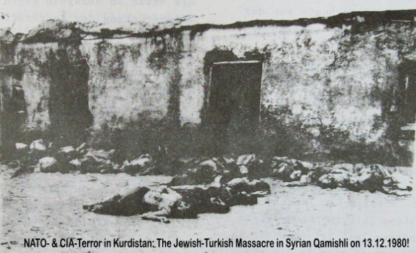 NATO Terror in Syria: the massacre of the USA-Turkey-Germany to Kurdish refugees in 1980 in Qamishli.