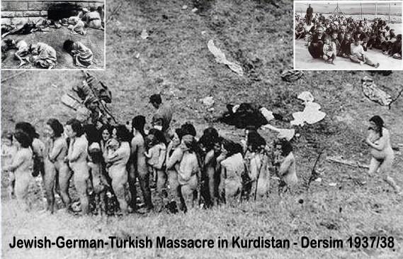 Türkei-Kurdistan: Der jüdisch-türkische Massenmord an Kurden in Dersim 1937/38