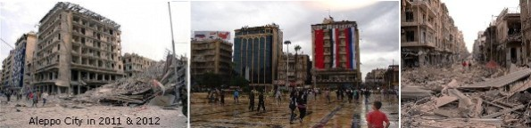 Arabien ruiniert Syrien ... auch in Aleppo