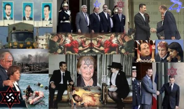 Abendlands Deutsch-Jüdischer Terror und Krieg im Vorderen Orient