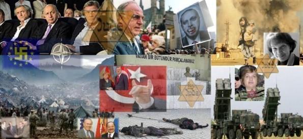 Abendlands kriminelle Juden beginnen Dritten Weltkrieg in Kurdistan gegen Syrien!