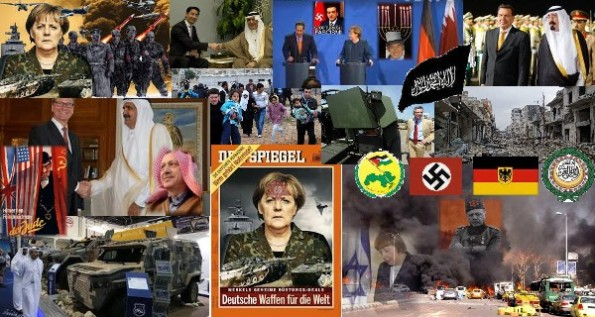 Deutschlands Terror und Krieg gegen Okzident und Orient 2011-2014